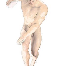 Joaquin Abella - Discus Thrower German By Quim Abella