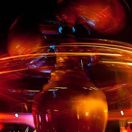 Denise Dube - Disneyland Rockets at Night