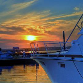 Kathy Baccari - Dockside Sunset