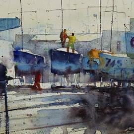 Andre MEHU - Dockyard at Keroman
