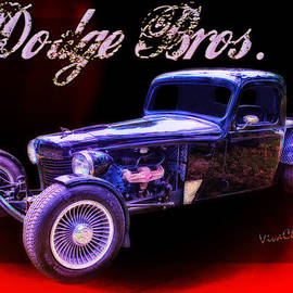 Chas Sinklier - Dodge Bros Pickup Poster