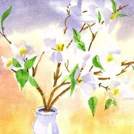 Kip DeVore - Dogwood in Watercolor