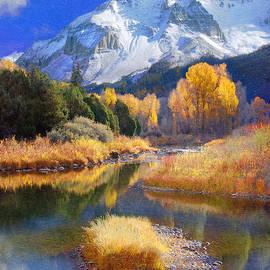 R christopher Vest - Dolores River In Southwest Colorado