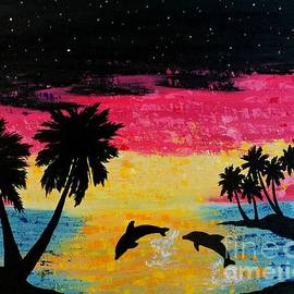 JoNeL Art  - Dolphin Island