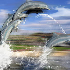 EricaMaxine  Price - Dolphin Race - Features in Comfortable Art and Newbies Group