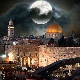 Michael Braham - Temple Mount In Israel - Series III