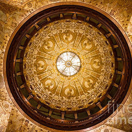 Dawna  Moore Photography - Domed Ceiling in the Old Ponce de Leon Hotel St. Augustine Florida