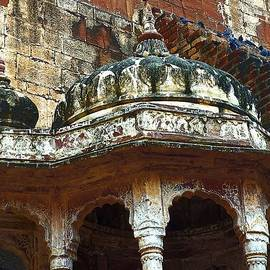 Sue Jacobi - Domed Gazebo Arches Mehrangarh Fort Rajasthan India
