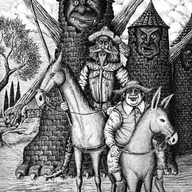 Vitaliy Gonikman - Don Quixote and Sancho Panza