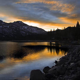 Lori Schneider - Donner Lake Sunset