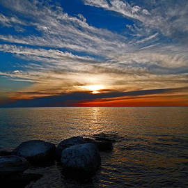 David T Wilkinson - Door County Sunset
