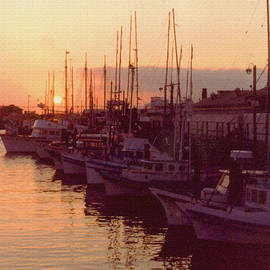 ImagesAsArt Photos And Graphics - Door County Wisconsin Egg Harbor Sunset 1981