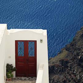 Aiolos Greek Collections - Door facing the Aegean sea