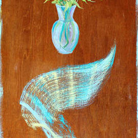 Asha Carolyn Young - Floating Bouquet Door