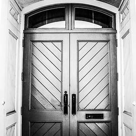 Shelby  Young - Doorway at Morris Avenue - Black and White
