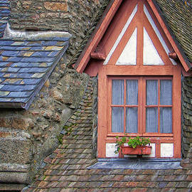 Nikolyn McDonald - Dormer Window in Mont-Saint-Michel