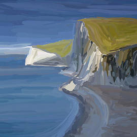 Eliza Donovan - Dorset Cliffs