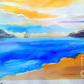 Roberto Gagliardi - Double Island from Ellis Beach Far North Queensland Australia