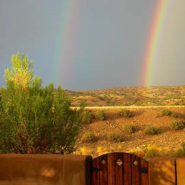 Mary Lee Dereske - Double Rainbow Beyond the Gate