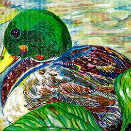 M E Wood - Douglas the Duck