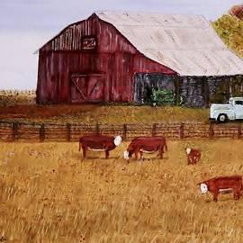 Larry E  Lamb - Down on the farm
