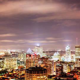 Eti Reid - Downtown Montreal at night