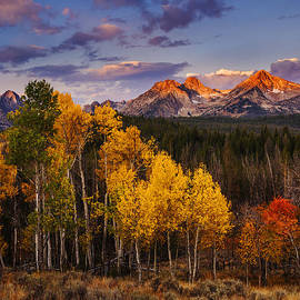 Vishwanath Bhat - Dramatic Sawtooth Autumn Sunrise