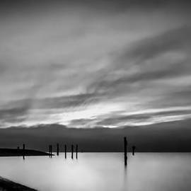 Eva Kondzialkiewicz - Dramatic Sunset in Black and White