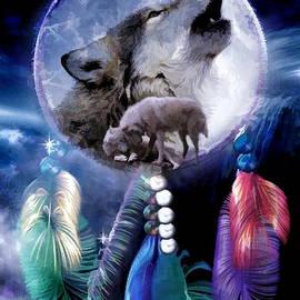 Angelgold Art - Dream Wolf