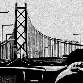 Anu Nadimpalli - Driving over Akashi Kaikyo bridge