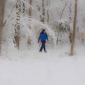 Kathy Liebrum Bailey - Dropped Into Frozen Wonderland