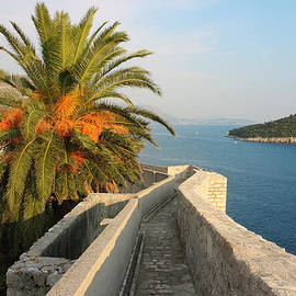 Kiril Stanchev - Dubrovnik Fortress Wall Seaview