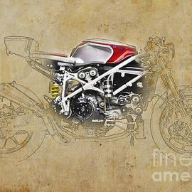 Pablo Franchi - Ducati 479 Cafe Racer