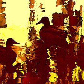 Amy Vangsgard - Ducks on Red Lake 3