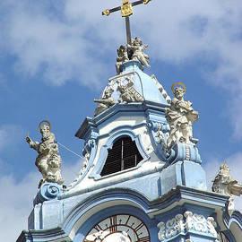 Menega Sabidussi - Duernstein Blue Baroque Church Bell Tower