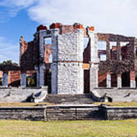 Dawna  Moore Photography - Dungeness Ruins Panorama Cumberland Island Georgia