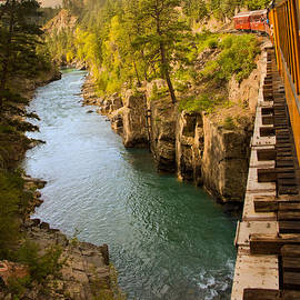 Randall Branham - Durango Train crossing Animas