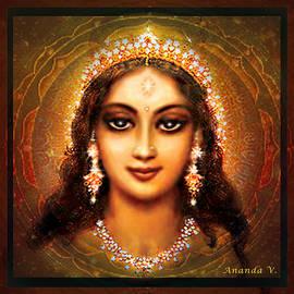 Ananda Vdovic - Durga in the Sri Yantra - dark