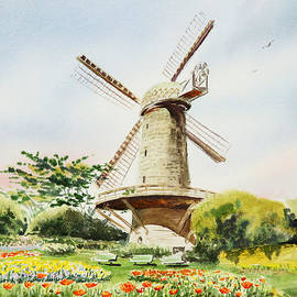 Irina Sztukowski - Dutch Windmill in San Francisco