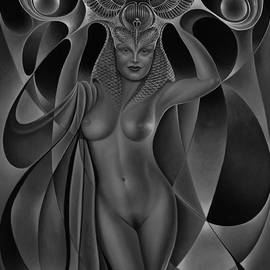 Ricardo Chavez-Mendez - Dynamic Queen V-Black and White
