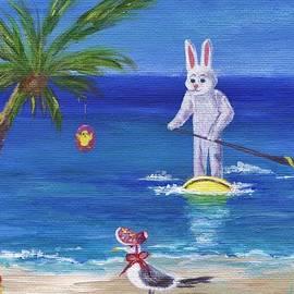 Jamie Frier - E Bunny at the Beach