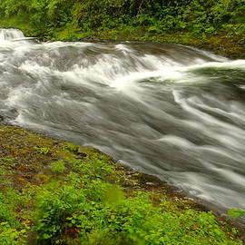 Jeff  Swan - Eagle Creek Before Twister Falls