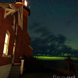 Dale Niesen - Eagle Harbor Lights