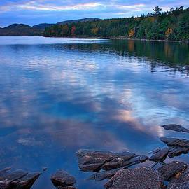 Stuart Litoff - Eagle Lake at Dusk - Maine