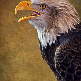 Bill Tiepelman - Eagle On Lookout