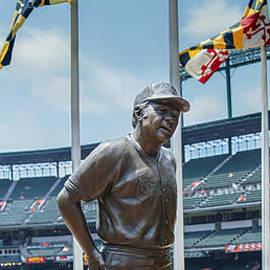 Brian Wallace - Earl Weaver Statue
