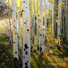 Gary Kim - Early Fall Colors of Aspen