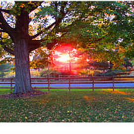Tina M Wenger - Early Fall Sunset 2014