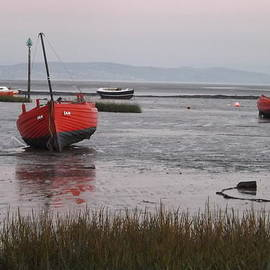 Rumyana Whitcher - Early morning at Morecambe Bay