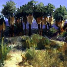 Maria Hunt - Early Light at Thousand Palms Preserve